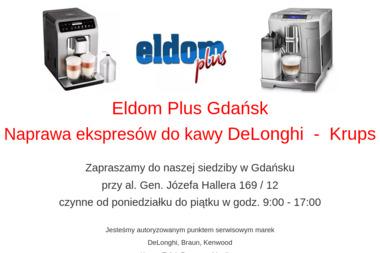 Eldom Plus Gdańsk - Naprawa piekarników i kuchenek Gdańsk