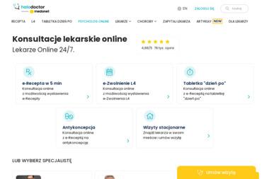 """Lekarz Łobodziński Stefan - Niepubliczny Zakład Opieki Zdrowotnej """" MEDYK"""" Sp. z o.o. - Przychodnia - Psycholog Kutno"""