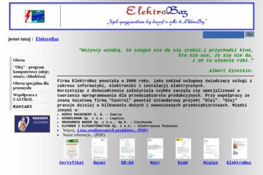 Elektrobaz - Strony internetowe Ropczyce