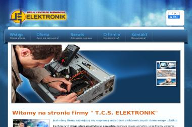 """TWOJE CENTRUM SERWISOWE """"ELEKTRONIK"""" - Instalacja, konfiguracja komputerów i sieci Rzeszów"""