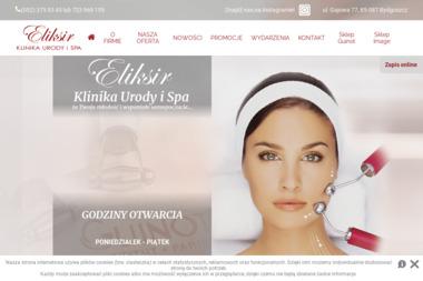 """""""Eliksir"""" - Klinika Urody i SPA - Usługi kosmetyczne i fryzjerskie Bydgoszcz"""