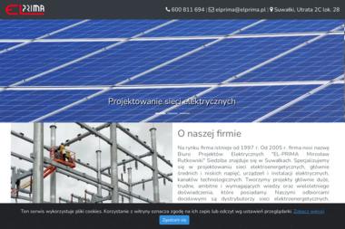 Biuro Projektów Elektrycznych El Prima Mirosław Rutkowski - Projekty Domów Parterowych Suwałki
