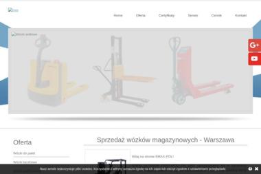 Emax-Pol - Wózki Spalinowe Używane Warszawa