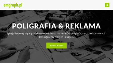 Emgraph Usługi Poligraficzne. Marcin Weber. Reklama, zaproszenia - Ulotki Szczecin