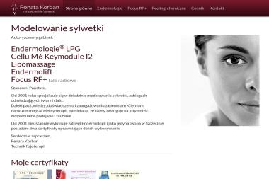 Masaż i pielęgnacja Renata Korban. Endermologia, lipomassage, modelowanie sylwetki - Dietetyk Szczecin