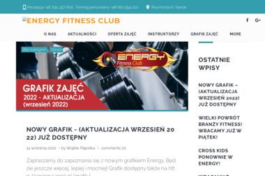 Energy Fitness Club - Trener personalny Sanok
