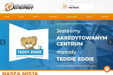 Energy School. Szkoła języków obcych, angielski - Język Angielski Szydłowiec