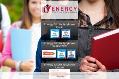 Energy Szkoła Językowa Dominika Domagała - Język Angielski Skaryszew