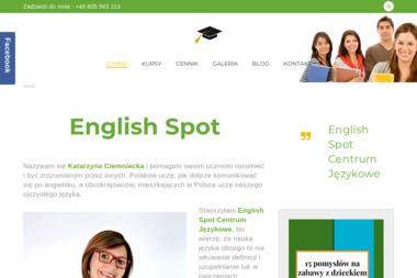English Spot. Angielski, kursy językowe - Szkoła Językowa Jelcz-Laskowice