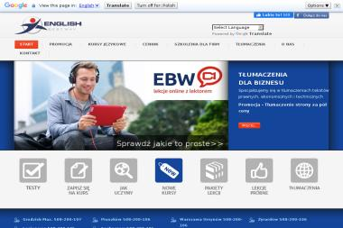 Szkoła Języka Angielskiego English Best Way - Język Angielski Pruszków
