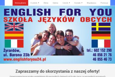 English for You Szkoła Języków Obcych - Nauka Angielskiego Żyrardów