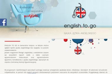 English To Go - Nauczyciele angielskiego Inowrocław