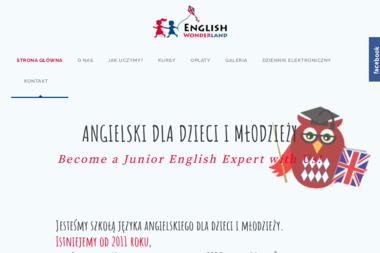 English Wonderland Angielski dla dzieci - Język Angielski Grodzisk Mazowiecki