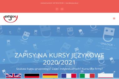 ENJOY szkoła języków obcych - Kurs włoskiego Poznań