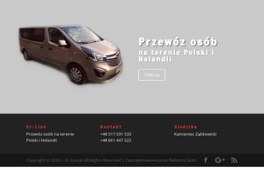 Er Line Przemysław Olczak - Kampanie Marketingowe Brwinów