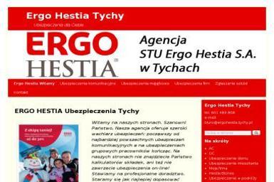 STU Ergo Hestia S.A. Agencja w Tychach. Ubezpieczenia - Ubezpieczenie samochodu Tychy