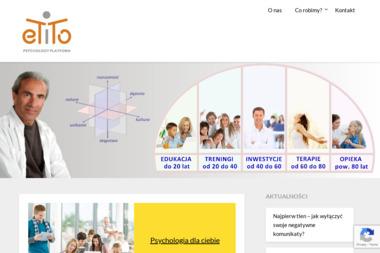 Edukacja, Terapie i Treningi Osobowości - ETiTO - Psycholog Gdynia