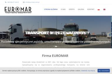 Euromar Transport Ciężarowy i Spedycja Marcin Dukiel - Transport ciężarowy krajowy Rumia
