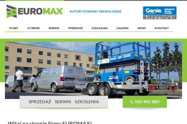 Euromax - Wynajem Szalunków Tychy