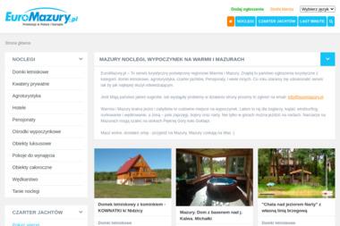 Euromazury Pl Krystian Dobaczewski - Reklama Giżycko