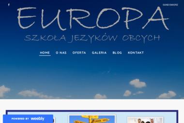 Szkoła Języków Obcych EUROPA - Nauczyciele angielskiego Sandomierz