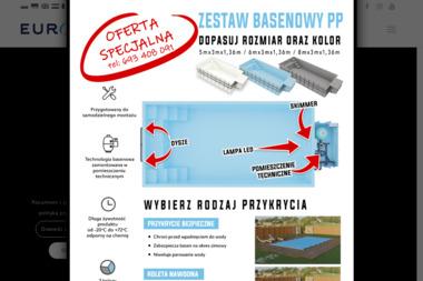Europool. Producent basenów kąpielowych - Fotowoltaika Padniewo