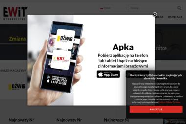 Europejskie Wydawnictwo Informacji Technicznych Sp. z o.o. Czasopisma branżowe, magazyny branżowe - Schody Modułowe Radom