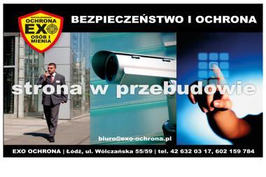 Exo FWHU - Ochrona Osób i Mienia. Ochrona osób, ochrona mienia - Agencja ochrony Łódź