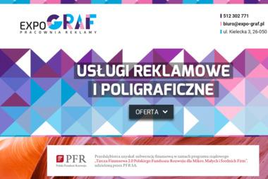EXPO Graf Pracownia Reklamy - Druk Wizytówek Zagnańsk