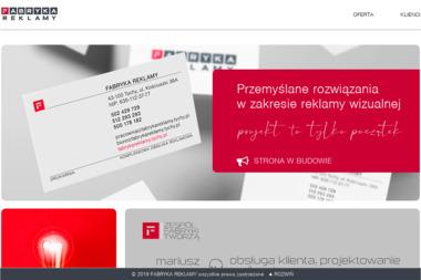F.U.H. FABRYKA REKLAMY - Firma IT Tychy