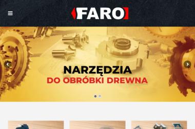 Faro Narzędzia do obróbki drewna - Tartak Wólka