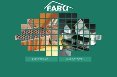 Faro. Budownictwo przemysłowe, budownictwo mieszkaniowe - Sklep Budowlany Orzesze