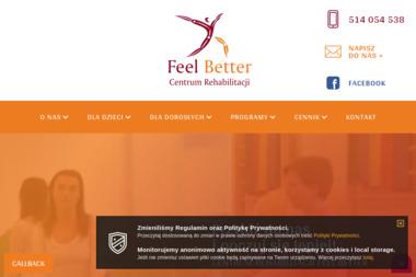 Centrum Rehabilitacji Feel Better - Fizjoterapeuta Kraków
