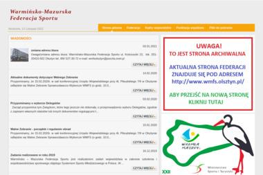 Warmińsko Mazurska Federacja Sportu w Olsztynie - Joga Olsztyn