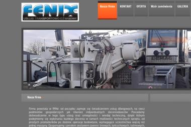 Fenix s.c. Usługi transportowo-dźwigowe - Usługi Dźwigowe Babice