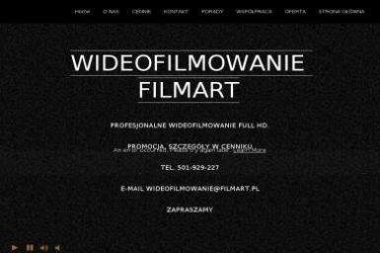 Filmart. Mariusz Baranowski - Kamerzysta Gdańsk