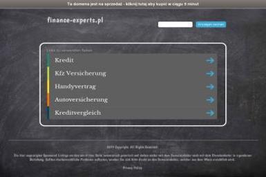 Finance-Experts. Kredyty, leasing, inwestycje - Pośrednicy Kredytowi Ostróda