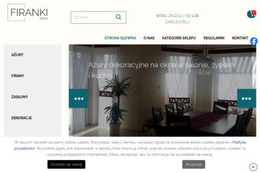 Sklep Tekstylia - Zasłony na Wymiar Kraków