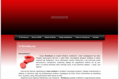 Grupa Firemka Eu Jakub Siwiec - Agencja reklamowa Bydgoszcz