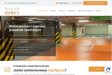 Firma Elin Andrzej Juszczak - Posadzki żywiczne Bielany Wrocławskie