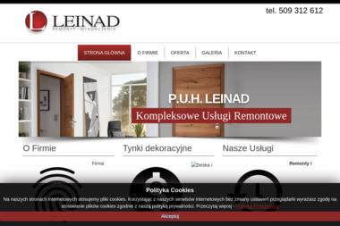 Przedsiębiorstwo Usługowo-Handlowe LEINAD - Montaż wykładzin Kalisz
