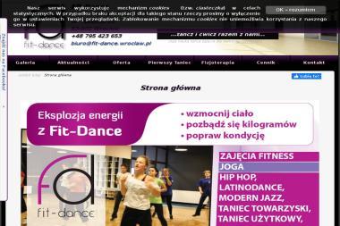 Fit-Dance Szkoła Tańca, Fitness, Fizjoterapia - Joga Wrocław