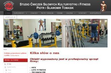 Studio Ćwiczeń Siłowych Kulturystyki i Fitness Atlas S.C. Piotr Tomasik Sławomir Tomasik - Nauka pływania Świecie