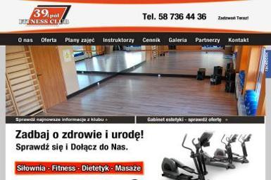 Fitness Club 39 i pół - Trener personalny Reda