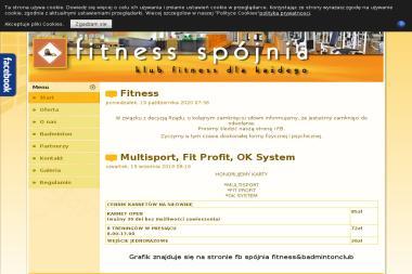 Fitness Klub Spójnia - Trening Personalny Gda艅sk