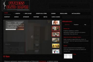 Fitness Club Capri. Siłownia, sauna - Trener personalny Nowa Sól