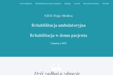 Gabinet Fizjoterapii Fizjo-Medica - Dietetyk Tyczyn