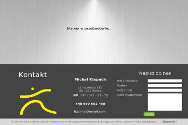 Michał Klapuch Fizjo Mat - Rehabilitant Gliwice