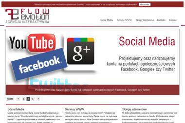 Flow Emotion Agencja Interaktywna Dawid Tomczyk - Firma Reklamowa Janów Lubelski