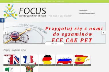 Focus Szkoła Języków Obcych. Focus, szkoła - Język hiszpański Izabelin C
